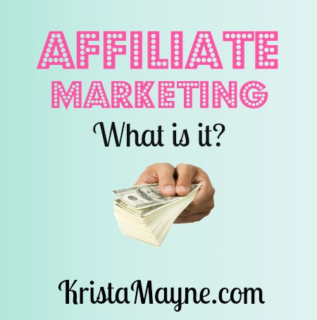 affiliate marketing what is it?